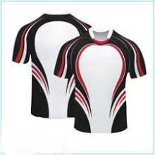 Сухой комплект 100% полиэфирных сублимационных рубашек для регби