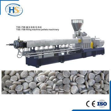 Tse-75 500-1000kg PP PE CaCO3 Filler Masterbatch Pelletizing Line