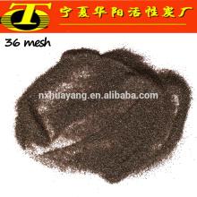 Grain 24 # 36 # 46 # sablage brun grain d'alumine fondu