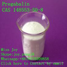 Pregabalin roher hoher Reinheitsgrad Pregabalin CAS 148553-50-8 Antikonvulsivum Antiepileptic API Fabrik-Direktverkauf