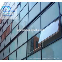 insulated low-e building glass wall