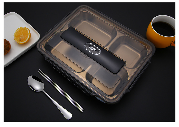 Portable Food Warmer Stainless Steel Bento Lunch Box 2
