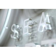 Tableau acrylique de signe de lettre de bureau de 3D