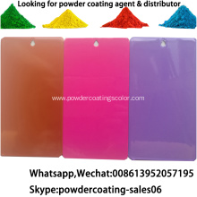 Fence electrostatic spray powder coating paint