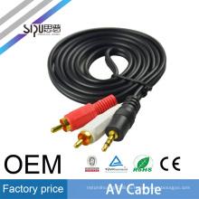 СИПУ лучшей цене 3,5 мм для 2RCA AV-кабель для PSP 1000 оптовая продажа аудио кабель высокоскоростной кабель RCA AV вход коннектора