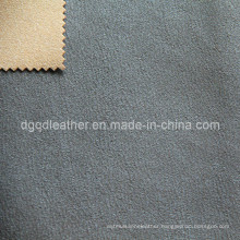 High Quality Breathable PU Furniture Leather (QDL-FB0009)