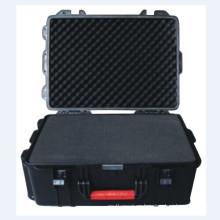 Robusto y fuerte ABS Tool Case con ruedas y carretilla