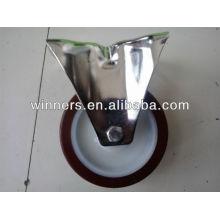 """Roulette industrielle de 4 """"/ roulette d'unité centrale d'acier inoxydable"""