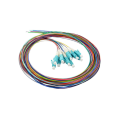 12 Core Bundle Ribbon SM Cable óptico pigtail fibra óptica