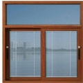 Aluminum Sliding Window with Built-in Blinds