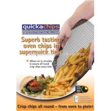 Reusable non-stick mesh cooking basket