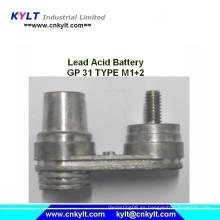 Fundición de aleación de plomo para Gp 31 Tipo M1 M2 Terminal de la batería