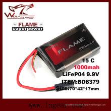 9.9V la flamme-1000 15 c la batterie LiFePO4 LFP avec le meilleur prix