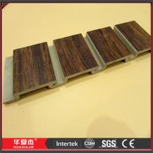Wood Plastic Composite Grey Slat Wall