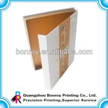 China alibaba que dobla el empaquetado libre de la caja de papel de la muestra