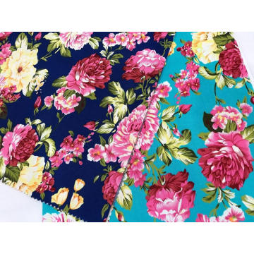 100% Katun Stretch Twill Poplin Printing Fabric