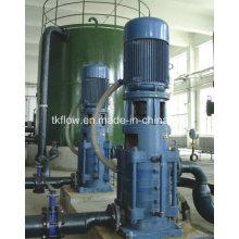 Вертикальный многоступенчатый центробежный водяной насос