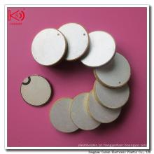 Cilindro de disco cerâmico cerâmico Pzt 10mm Pzt de alta qualidade com bom preço