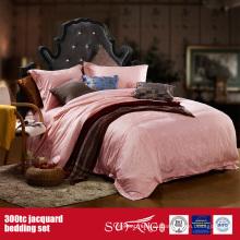 300TC Jacquard Wholesale Bedding Set Hotel Hospital Good juego de cama