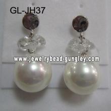 Aretes de perla de la cáscara sexy