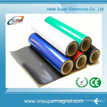 Isotropic Flexible Custom China Manufacturer Strong Rubber Magnets with Color PVC