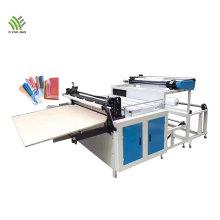 Roll to sheet cutting machine for fabric