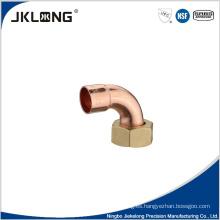 Acoplamiento de tubería de cobre