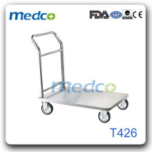 Melhor preço! Trolley de hospital em aço inoxidável T426