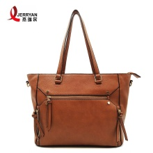 Brown Ladies Big Shoulder Bags Bolsos en línea
