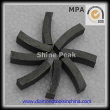 Buen segmento de diamante de 1600 mm de rendimiento para mármol