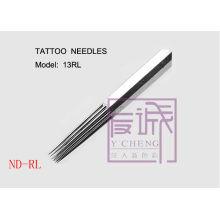 50 Pack Vorgefertigte Sterile Tattoo Nadeln, Auf Bar / Runde Liner Nadeln