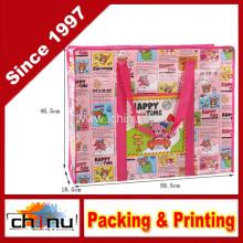 Promoção embalagem de compras não tecidos saco (920038)