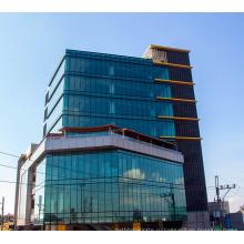 Энергосберегающие термические перемороженные закаленные стеклянные фасады