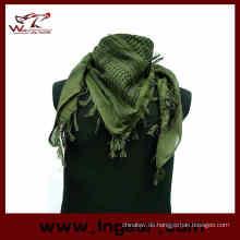 Billige Mens Military Camouflage Fische Net Mesh Armee Polyester Schal