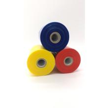 Colorful translucent handle stretch film