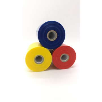 Colourful handle stretch film bening