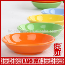 Ceramic oval mango yellow bake ware with silicone lid Lunch box locker bowl Japanese noodle bowl