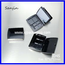 Doppelte Augenschminke Fall in Lidschatten kosmetische Lidschatten Verpackung kosmetische kompakte Verpackung Design