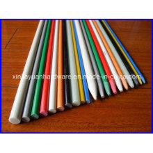 Rod rond durable en fibre de verre, tige en latex avec bas prix