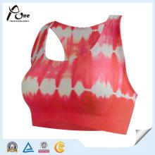 Femmes Custom Sublimation Sports Bra Fitness Wear