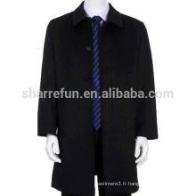 Manteau de 100% Cachemire 2015 nouveau chinois Cool Fashion hommes avec prix usine
