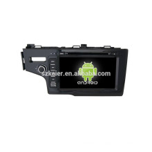 Quad coreHot verkaufen !! Auto-Navigation-Entertainment-System, Bluetooth, SPIEGEL-CAST, AIRPLAY, DVR, Spiele, Dual Zone, SWC für Honda Fit 2014