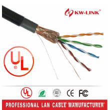 Fluke Test FTP CAT5E Outdoor Kabel UL Zertifikat