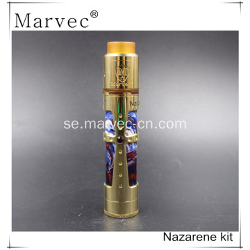 Marvec Nazarene messing / koppar / SS material vape smoke kit