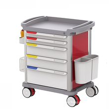 Hospital Multifunction Medical Cart Anesthesia Trolley