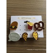 Coeur Hambourg Chips Lovely avec broche émail