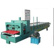 Máquina perfiladora de azulejos esmaltados de acero galvanizado