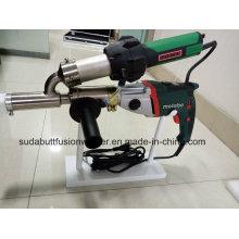 Ручной сварочный аппарат / экструдер для пластика