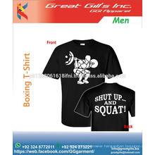 front back printed cotton t shirt
