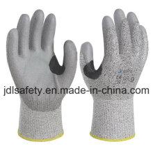 Усиленной стойкой работы перчатку с Пу (PD8046)